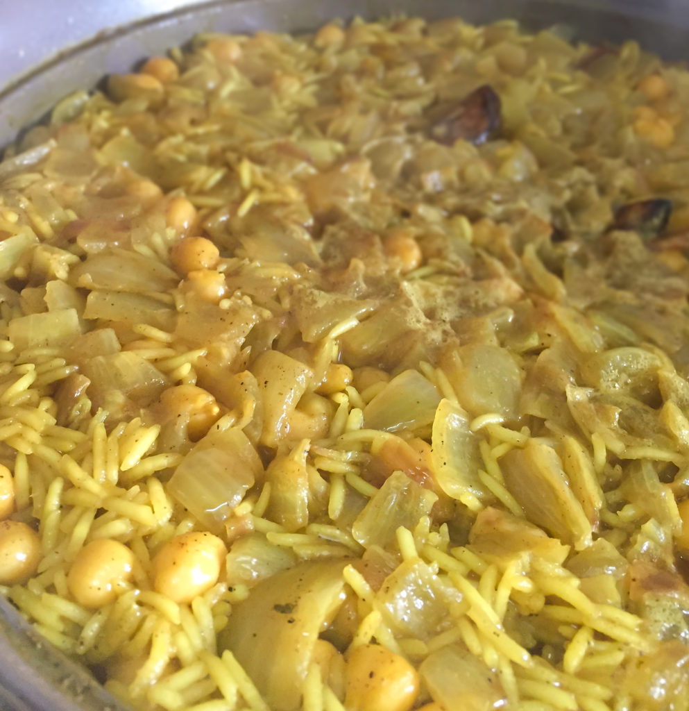 Arroz con garbanzos